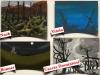 Opere di Paul Nash, soldato inglese della Grande Guerra, Louise Vitolo (Bruxelles -Woluwe-St-Lambert), Lily Bonner (Meudon, Francia) e Paolo Caccia Dominioni