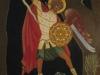 L'Arcangelo Michele e il drago, 2012 - tecnica tradizionale dell'icona (legno, bisso di lino, oro zecchino, tempera all'uovo con pigmenti antichi) - cm. 50x40