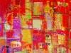 Paesaggio in rosso, 1961 - olio su tela - cm 70 x 90-1