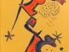 Senza titolo, 1987 - pennarello su carta gialla cm 295x21