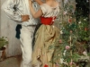 Ettore Tito, La mia rossa, 1888, olio su tela, cm 61 x 39,5