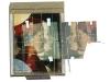 Museo - 1984 - Polaroid e seta serigrafica