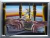 La fine di un tempo, 2015 - olio su tela - cm 134x94