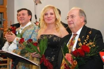 Foto: da sx Angelo Manzotti Marianna Prizzon e Stefano Casaccia
