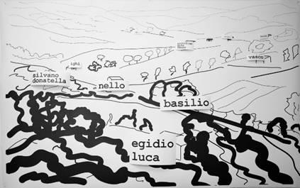 Vittorio Corsini, Paesaggio, 2010  Courtesy l'artista