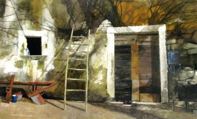 L'ombra del gelso, 2010_ - acrilico su tela