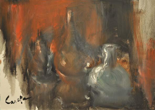 Vetri opalini - 2007 - olio su tela - cm. 100x70