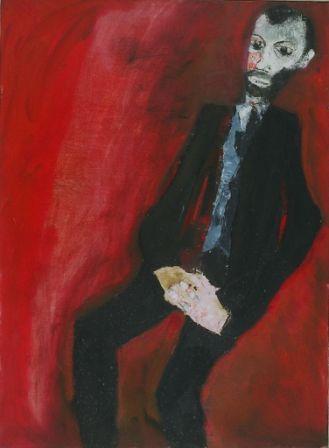 Autoritratto 1959 olio su tela_cm. 55x75