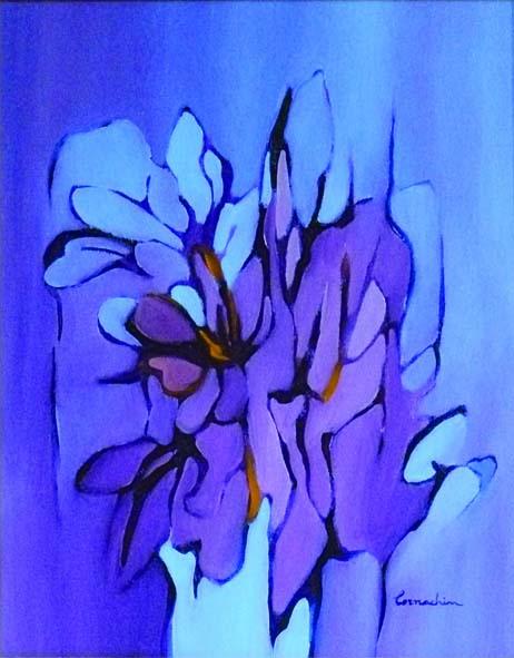 Ireos, 1970 - olio su tela - cm. 40 x 50_4c