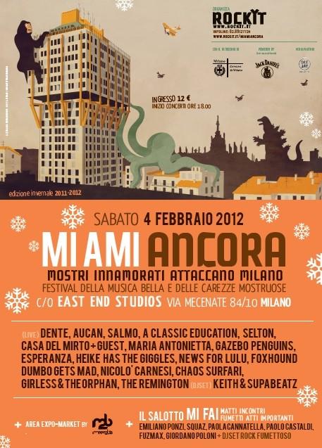 Locandina MI AMI ANCORA Festival
