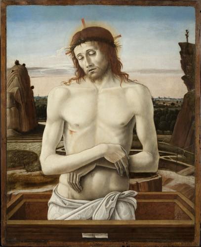 Giovanni Bellini - Imago Pietatis - © Milano Museo Poldi Pezzoli