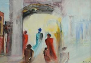 Annie Blanchi, 2012 - Roma città eterna - cm 100x70