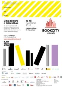 Locandina BOOKCITY MILANO 2012