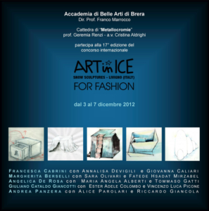 Art-in-Ice 2012