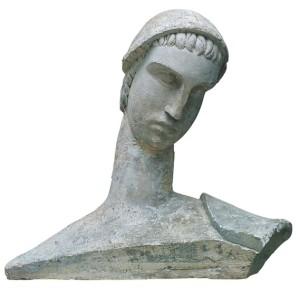Leone Lodi, Giovinetto, gesso, 1919
