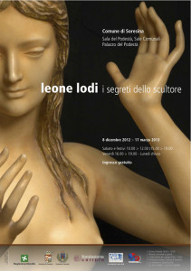 Locandina mostra Leone Lodi