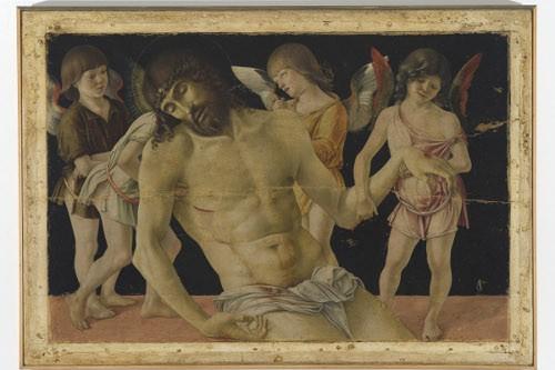 Cristo morto sorretto da quattro angeli 1470 circa © Rimini, Museo della Città