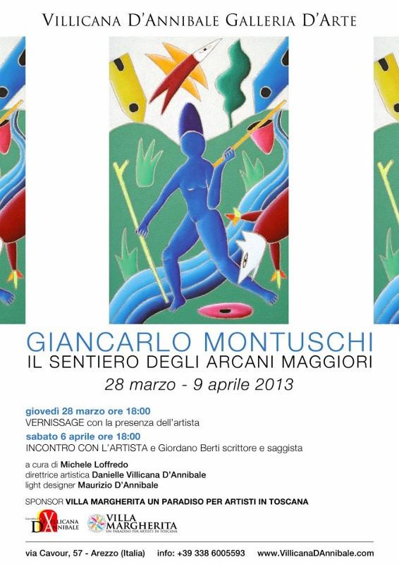 Mostra di Giancarlo Montuschi