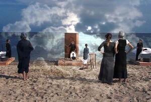 Le vecchie e il mare di Dimitris Kozaris