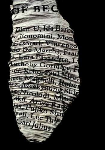 Words #6, Antologia, 2012 - credits Luisa Menazzi Moretti