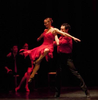 Tango al Teatro Greco in Roma