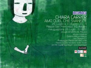Locandina mostra di Chiara Carrer