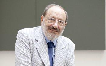 Umberto Eco - Foto di Leonardo Céndamo|Festival della Comunicazione 2014