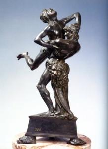 Antonio del Pollaiolo  Ercole e Anteo, 1470 circa  fusione in bronzo, h cm 44  ©Firenze, Museo Nazionale del Bargello