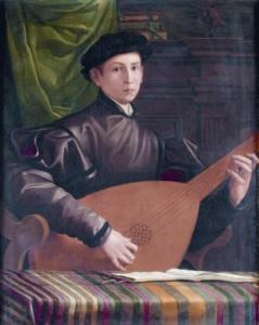 F. Salviati - Il suonatore di liuto