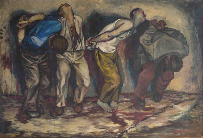 Opera di Guttuso: Grecia1952