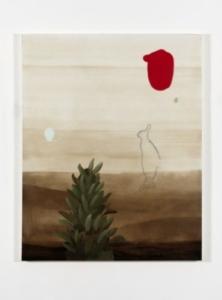 Mirko Baricchi, Humus #12, 2015, tecnica mista su tela, cm. 150x120, ph Dario Lasagni.