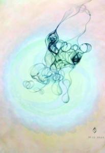 Semurg, 2003 - tecnica mista - cm 25x36
