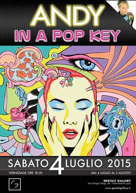 In a Pop Key mostra di Andy