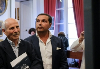 Il presidente di Giuria Peppe Leone e il direttore del Premio Mario Esposito